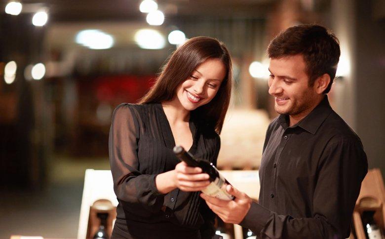 Dem Weinetikett können verschiedene Informationen über den Wein entnommen werden.