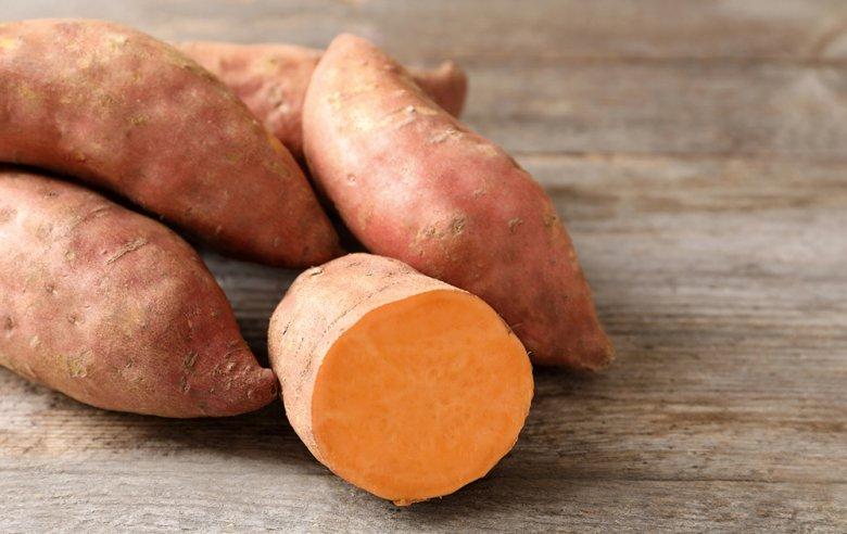 Süßkartoffeln sind in der Küche vielfältig verwendbar.