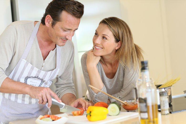 Frisch zubereitetes Essen schmeckt einfach besser als Fertiggerichte.