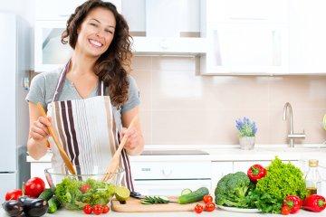 Wie kocht man gesund?