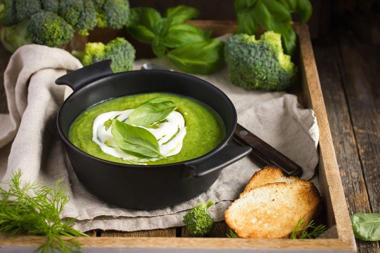 Unter anderem kann mit Brokkoli eine herrliche Suppe zubereitet werden.