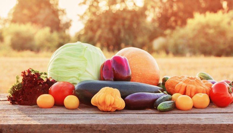 Herbstgemüse vorsorgt den Körper mit wertvollen Inhaltsstoffen.