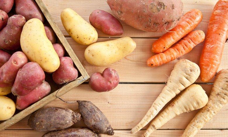 Wurzel- sowie Knollengemüse sind nährstoff- und vitaminreich.