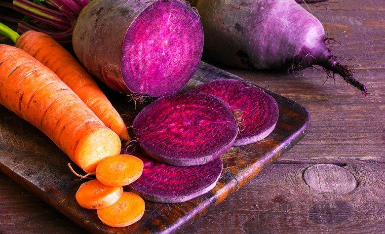 Aus Wurzelgemüse und Rüben können herzhafte Gerichte zubereitet werden.