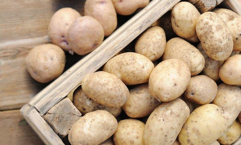 Kartoffeln lassen sich gut im abgedunkelten Keller lagern.