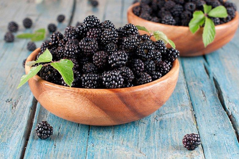 Nicht nur die Früchte, sondern auch die Blätter kann man essen.