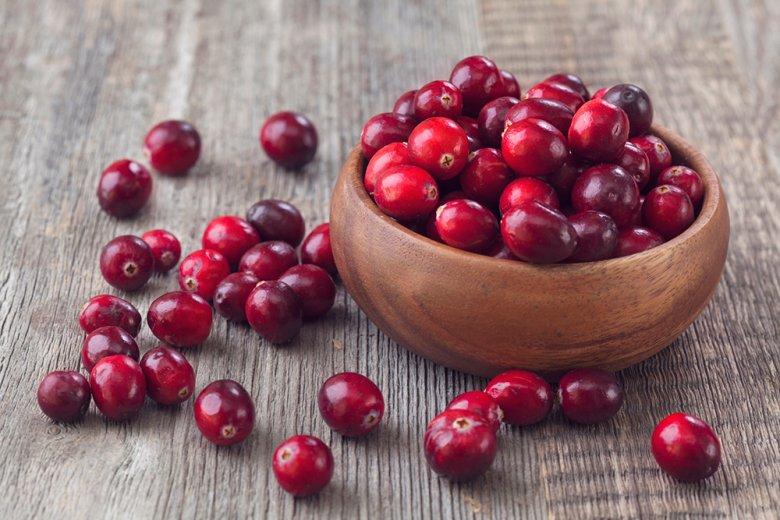 Der herb-säuerlichen Geschmack Cranberries eignet sich vor allem auch in Kuchen.