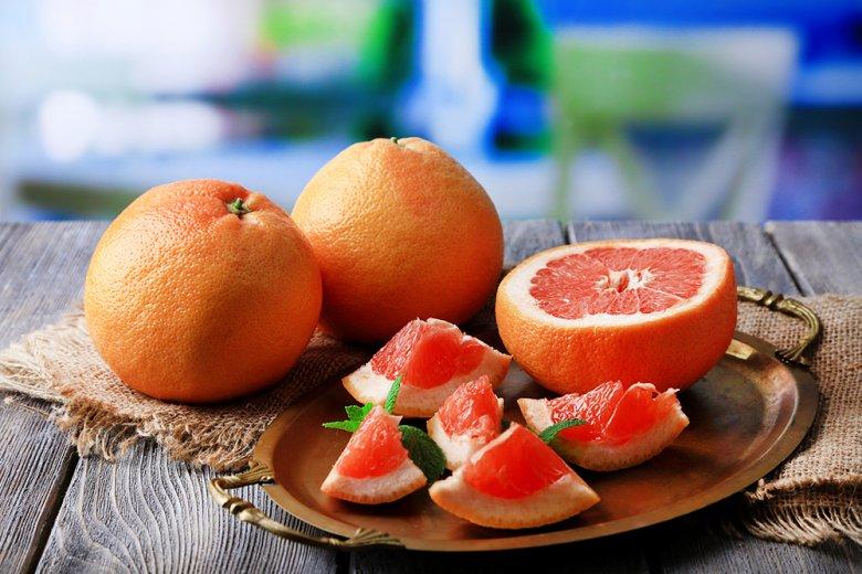 Die Grapefruit wird oft auch Adamsapfel oder Paradiesapfel genannt.