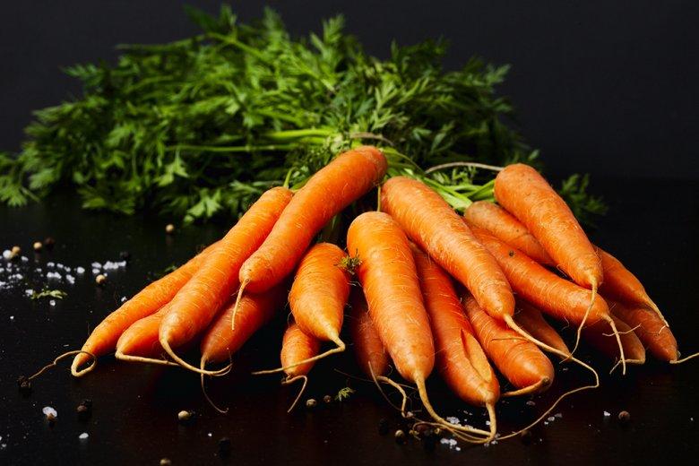 Möhren schmecken gut und sind gesund - sie zählen zu den Top 3 des gekauften Frischgemüses.
