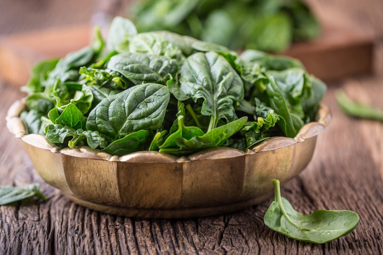Der Eisengehalt von Spinat ist doch nicht so hoch wie früher angenommen.