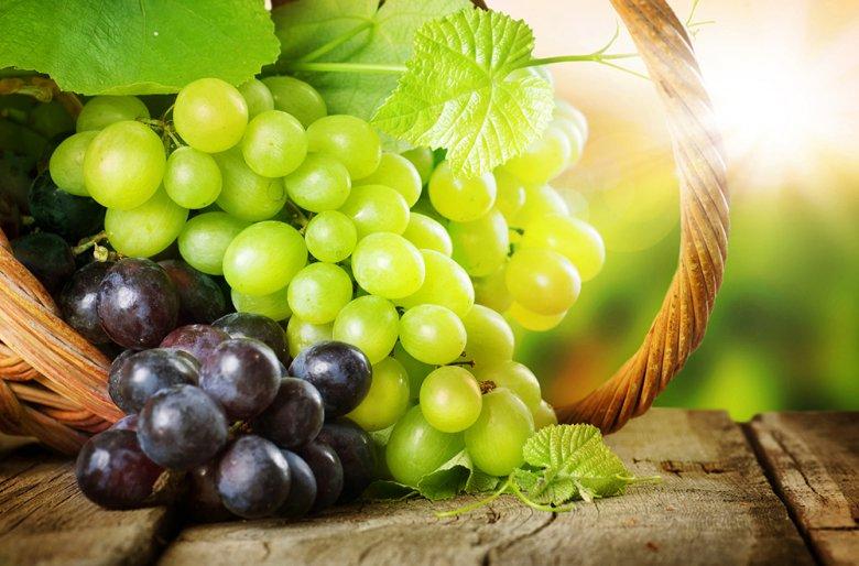 Weintrauben sind reich an Vitaminen und schmecken vor allem roh super lecker.
