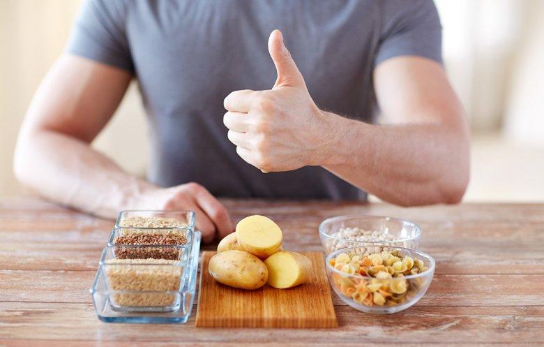 Kartoffeln sind gesund und zudem noch sehr kalorienarm.