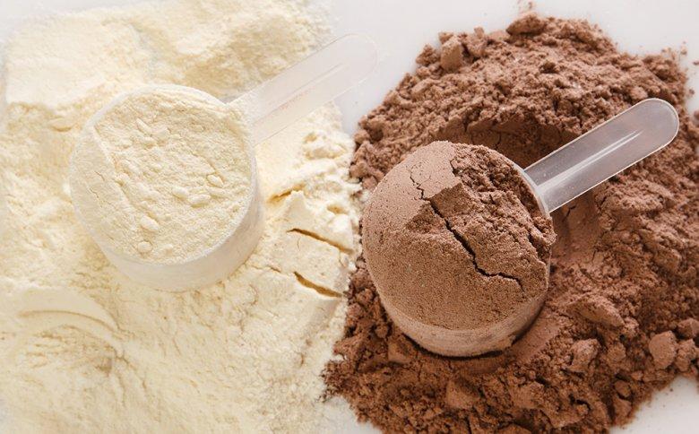 Meist sind Protein-Shakes ein Bestandteil der Eiweiß Diät.