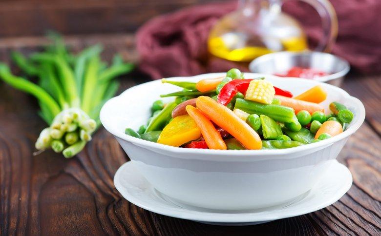 Gemüse eignet sich hervorragend zum Dämpfen, dabei bleiben Biss, Geschmack und Nährstoffe erhalten.