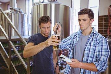 8. Schritt - Alkoholgehalt messen