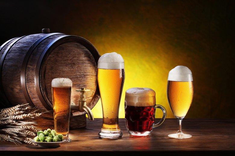 Nur in einem Glas kann Bier sein volles Aroma entfalten - und was wäre ein Bier ohne Schaumkrone.