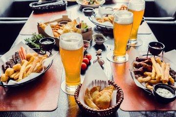Welches Bier zu welchem Essen