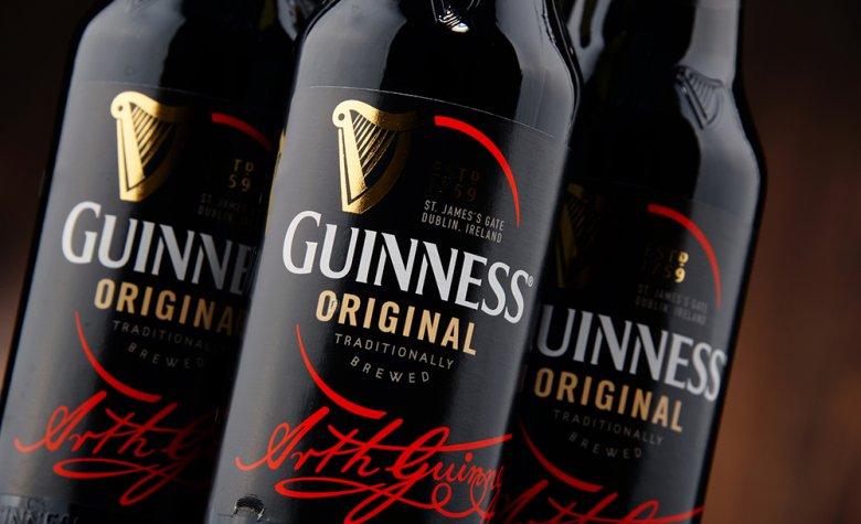 Das Guinness Bier wird in mehr als 150 Länder exportiert.-2015