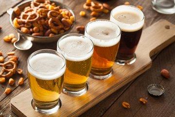 Bier in verschiedenen Sprachen