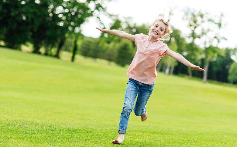 Ausreichend Bewegung ist für Kinder ernorm wichtig.