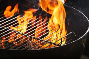 Brennstoffe zum Grillen