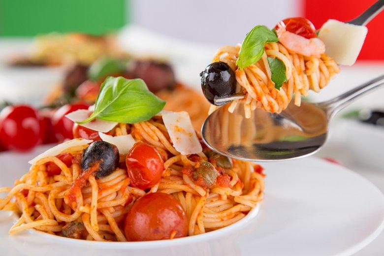 In Italien gibt es eine große Auswahl an Pasta-Gerichten.