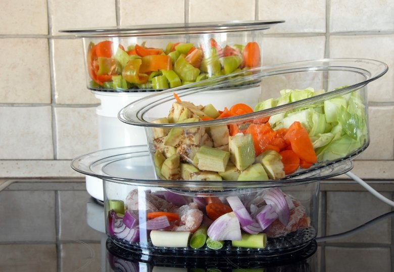Die wertvollen Vitamine und der Geschmack bleiben beim Gemüse erhalten.