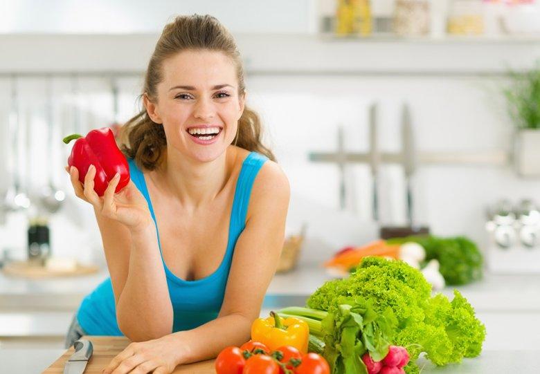 Gemüse bleibt auch im gedämpften Zustand knackig und frisch.
