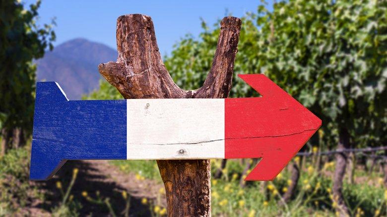 Frankreich zählt zu den wichtigsten Weinbaugebieten der Welt.