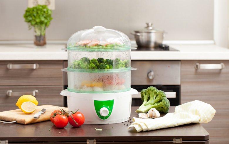 Gemüse wird im Dampfgarer besonders schonend und schnell zubereitet.