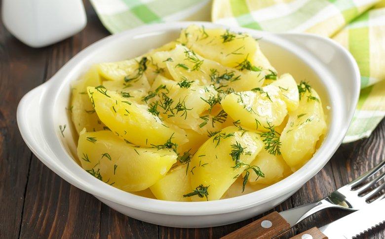 Kartoffeln aus dem Dampfgarer schmecken wunderbar.