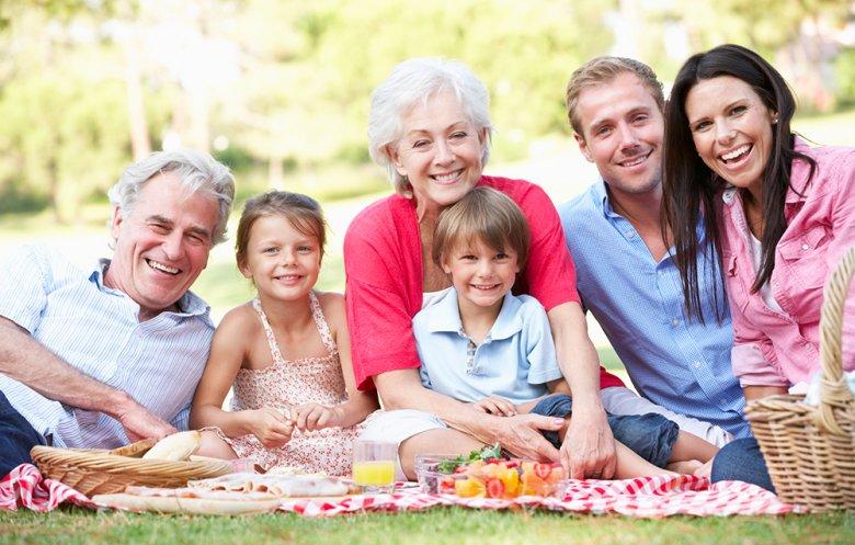 Der Muttertag bietet sich dazu ein, ein Picknick mit der geliebten Mutter zu machen.