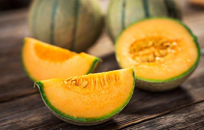 Melonen sind sehr kalorienarm, köstlich und gesund.