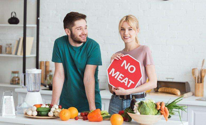 Die Gründe für eine vegetarische Ernährung, ohne Fisch und Fleisch, können vielfältig sein.