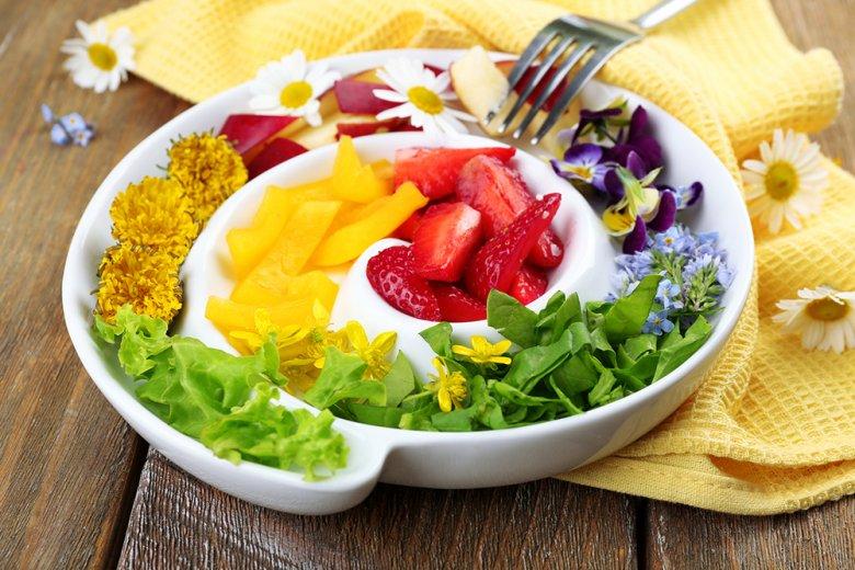 Ost und Gemüse ist nicht nur gesund, sondern enthält auch viele Mineralstoffe.