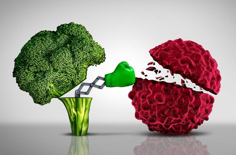 Mit der richtigen Ernährung können Krebszellen bekämpft werden.