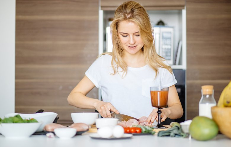 Eine leichte Schonkost ist bei einer Magenschleimhautentzündung empfehlenswert.