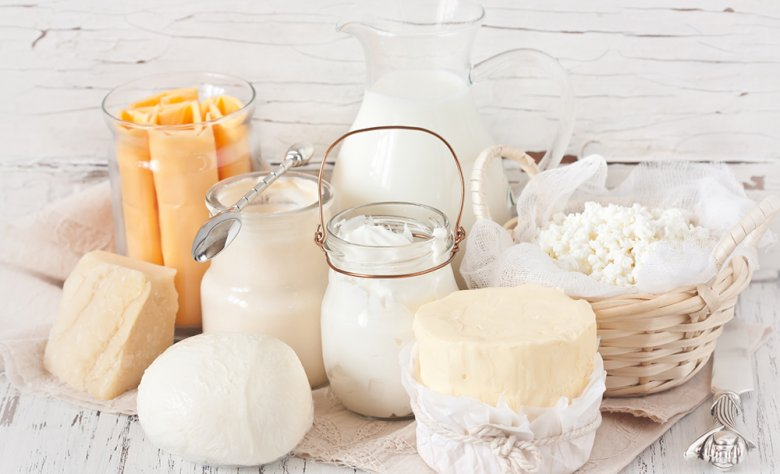 Milch und Milchprodukte versorgen den Körper mit wichtigem Calcium.