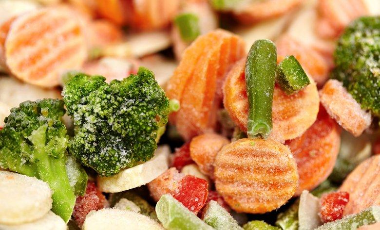 Tiefgekühltes Gemüse hat ein schlechteres Image als Frischware.
