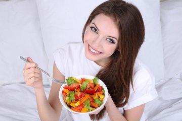 Essen für die Schönheit