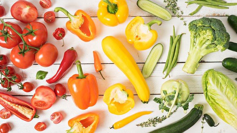 Gemüse versorgt den Körper mit vielen Vitaminen und Nährstoffen.