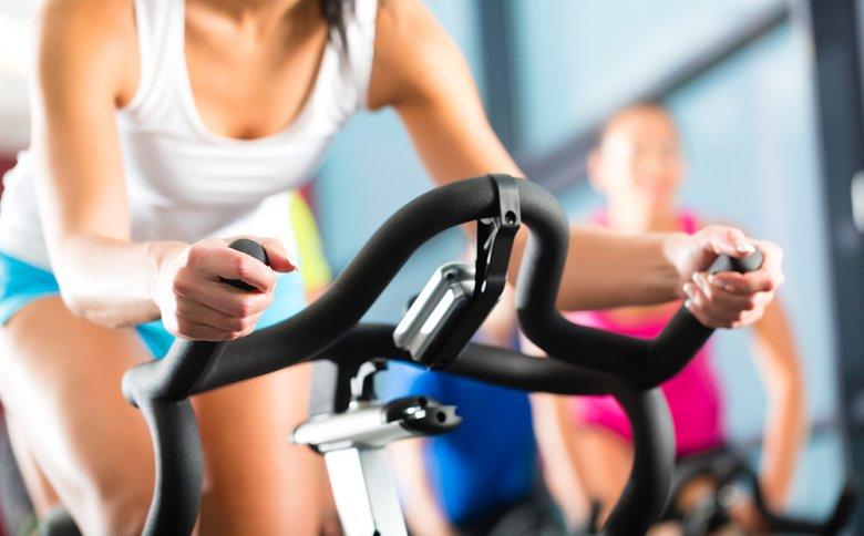 Das Training kann im Fitnesscenter sehr abwechslungsreich gestaltet werden.