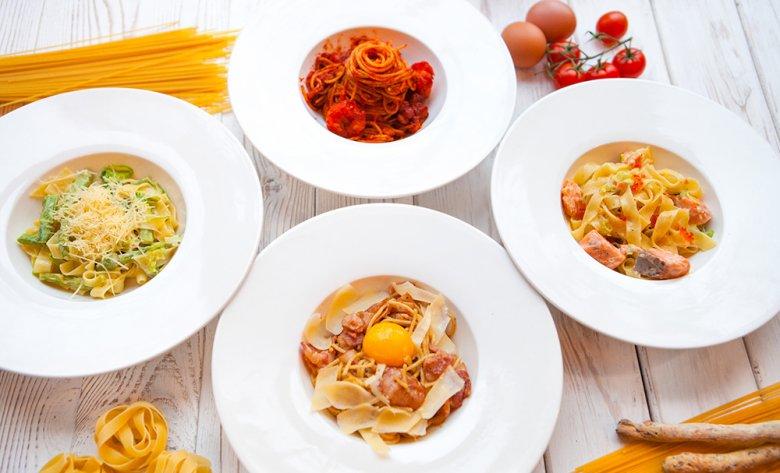 Die Sortenvielfalt und Zubereitungsmöglichkeiten von Pasta sind beinahe unerschöpflich.