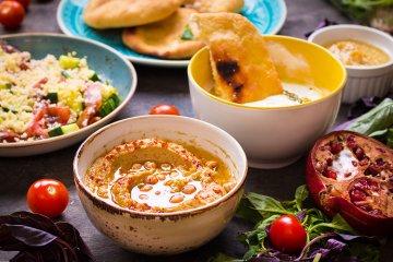 Levante Küche: Der neue Food-Trend kommt aus Nahost