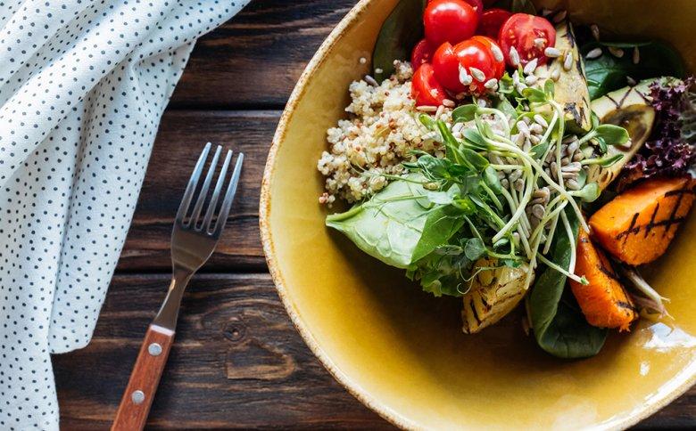 Je nach Lust und Laune können Food-Bowls mit gesunden Zutaten angerichtet werden.