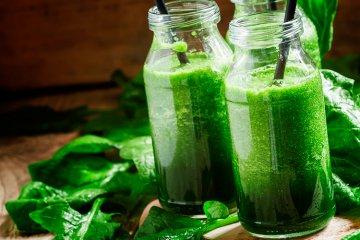 Grüne Smoothies liegen voll im Trend