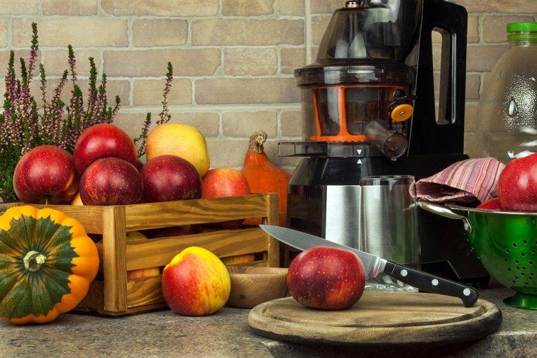 Beim Kaltentsaften bleiben die meisten Vitamine erhalten.