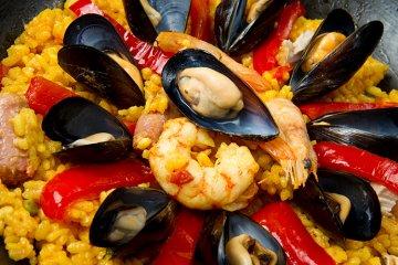 Spanische Küche - von Gazpacho bis Paella