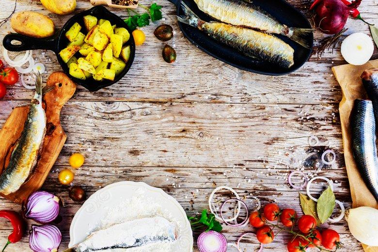 In Skandinavien wird, neben anderen Spezialitäten, sehr gerne Fisch serviert.