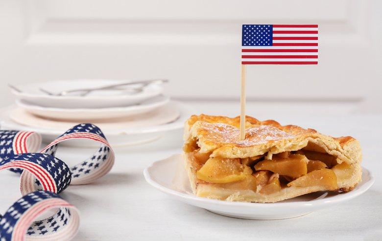 Apple Pie ist der Inbegriff der USA, am besten schmeckt dieser lauwarm.